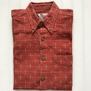 THE TERRITORY AHEAD Short Sleeve Button Down!   S